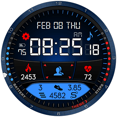 Hyperspace NEXT Watch Face