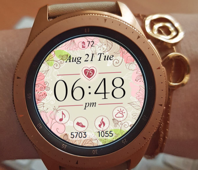 Lady Summer watch face